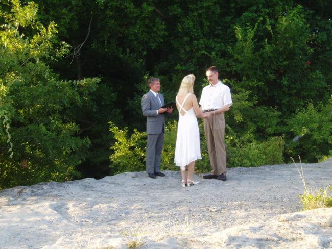McKinney Falls Wedding